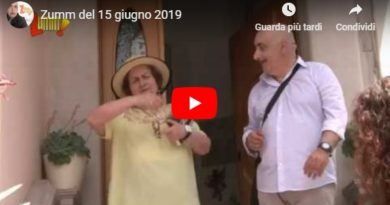 Zumm del 15 giugno 2019 (VIDEO)