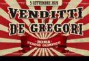 Venditti e De Gregori, insieme in concerto dopo 50 anni