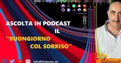 """Ascolta il """"Buongiorno col sorriso"""" in audio podcast"""
