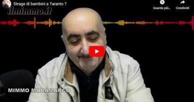 Strage di bambini a Taranto ? Ma pensiamo allo stipendio che è meglio…
