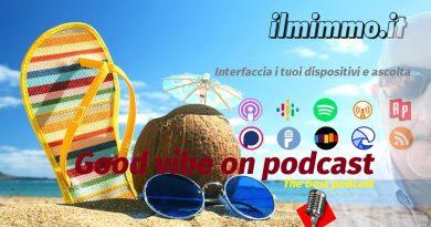 Buon weekend a tutti con la raccolta settimanale dei miei podcast